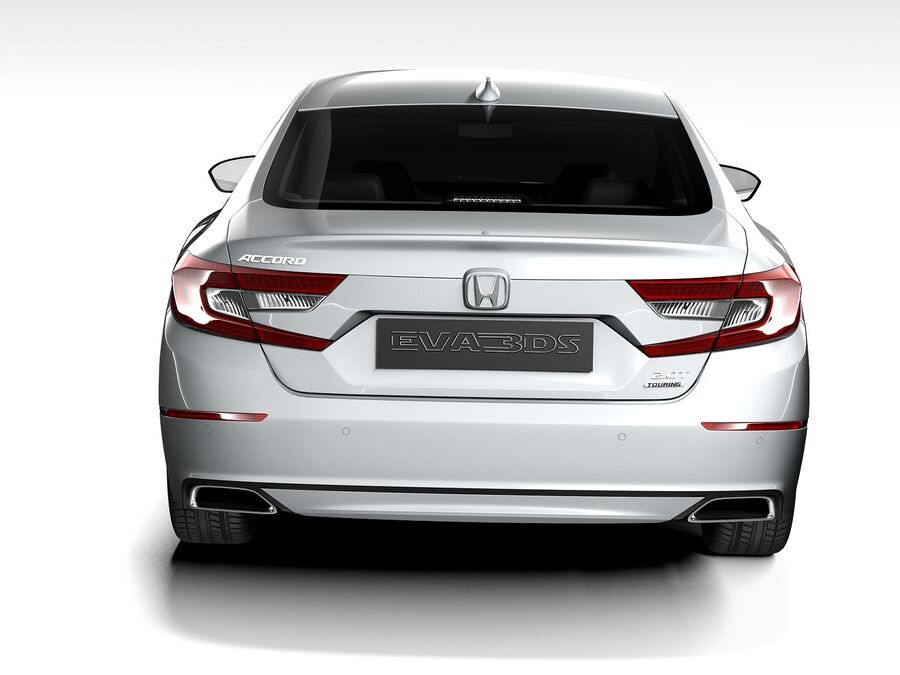 Honda Accord 2020 royalty-free 3d model - Preview no. 9