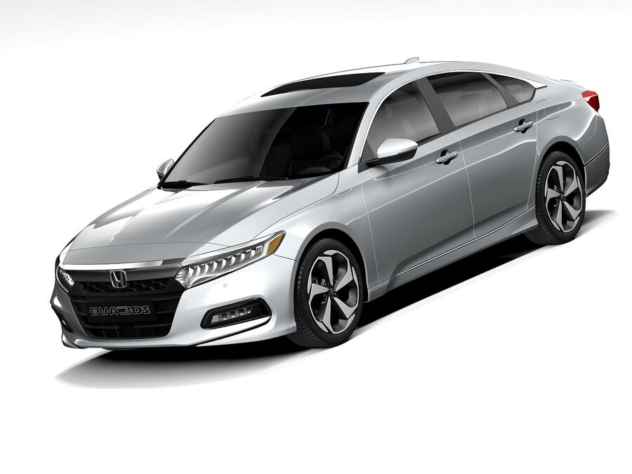 Honda Accord 2020 royalty-free 3d model - Preview no. 1