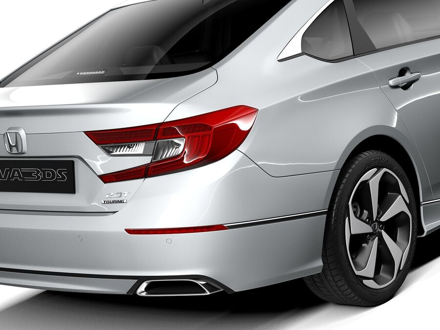 Honda Accord 2020 royalty-free 3d model - Preview no. 4