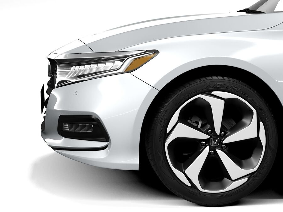 Honda Accord 2020 royalty-free 3d model - Preview no. 11