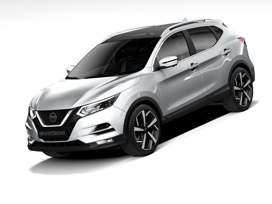 Nissan Qashqai 2020 royalty-free 3d model - Preview no. 1