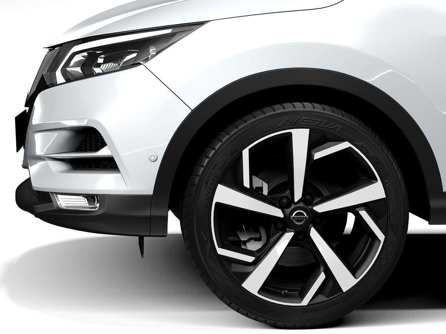 Nissan Qashqai 2020 royalty-free 3d model - Preview no. 11