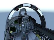 F-15C Cockpit 3d model