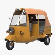 Tuk Tuk Taxi 3d model