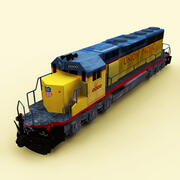EMD SD 40 Union Pacific 3d model