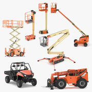 JLG Industries Equipment Collection 3d model