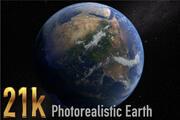21k Earth Photorealistic 3d model