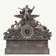 Grand Central fasadskulptur 3d model