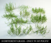 grass collection 1 3d model