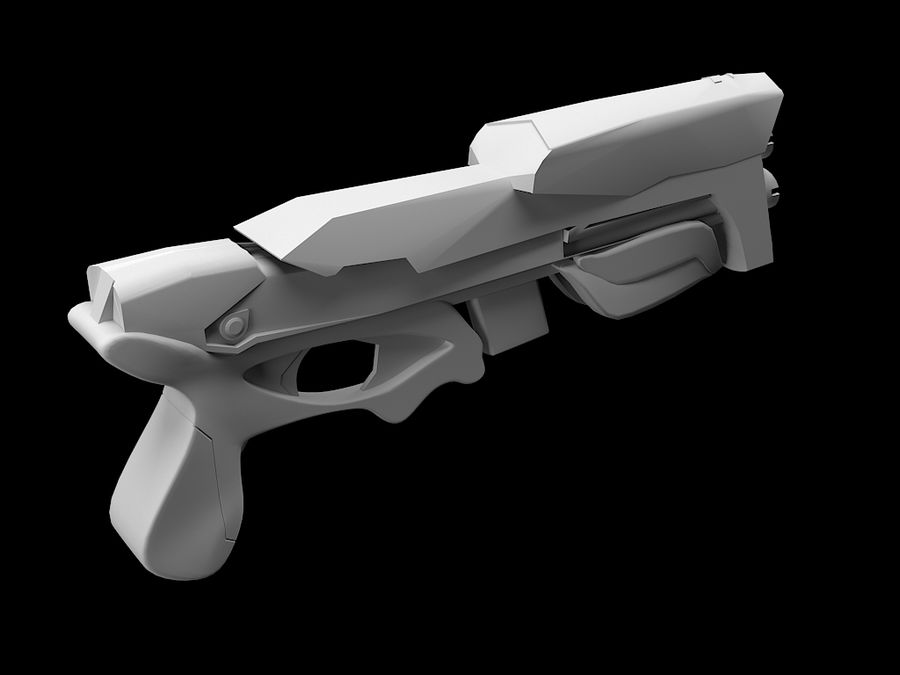 Weapon royalty-free 3d model - Preview no. 1