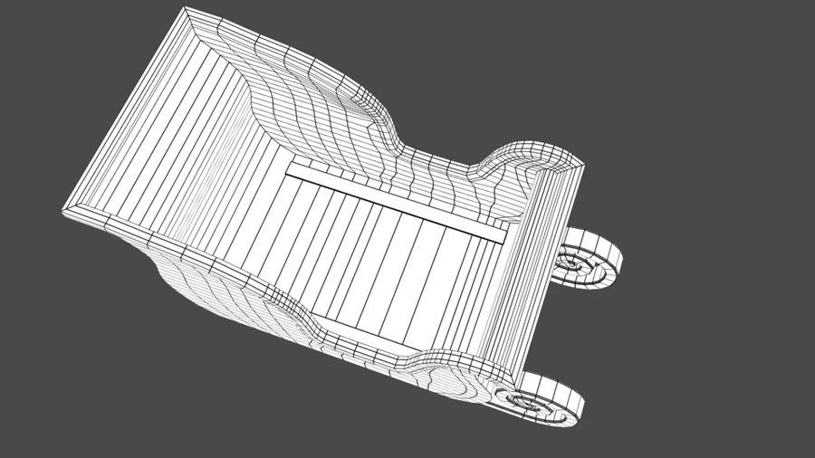 サンタのそり royalty-free 3d model - Preview no. 8