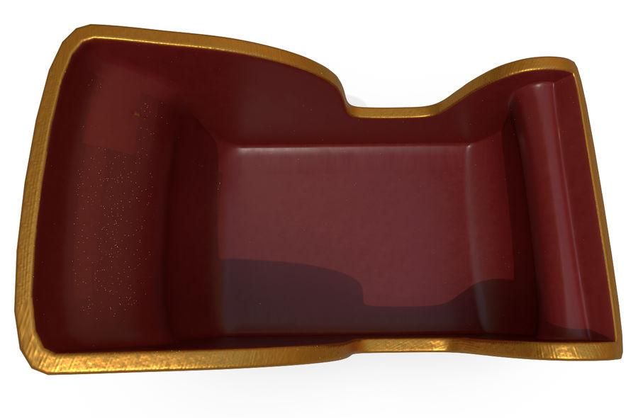 サンタのそり royalty-free 3d model - Preview no. 6
