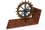 Water Wheel 3d model