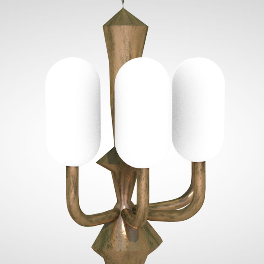 bougeoir royalty-free 3d model - Preview no. 1