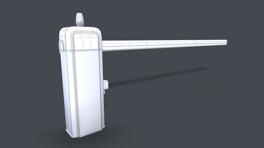 Barriere royalty-free 3d model - Preview no. 6