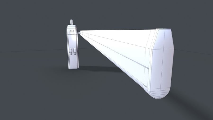 Barriere royalty-free 3d model - Preview no. 9