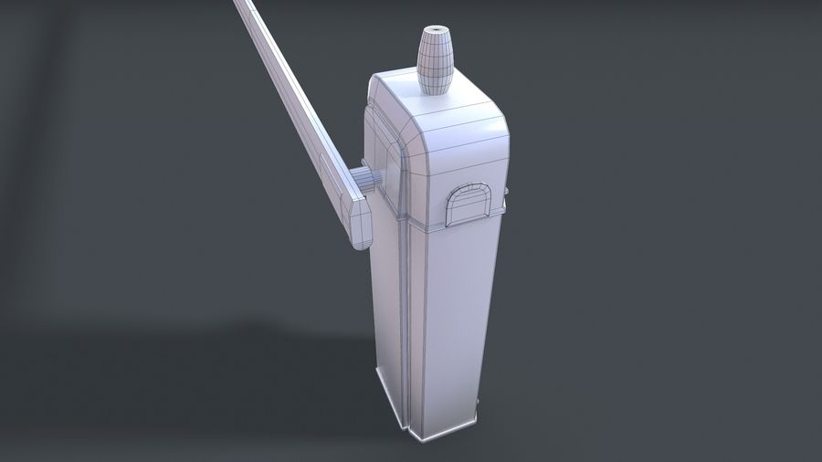 Barriere royalty-free 3d model - Preview no. 8