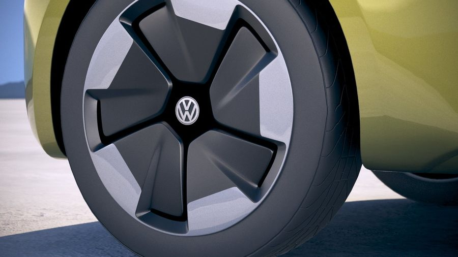 Volkswagen ID Buzz 2020 royalty-free 3d model - Preview no. 15
