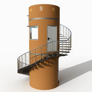 Kojima Watchtower 3d model