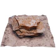 Desert Rock 001 3d model