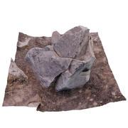 Desert Rock 005 3d model