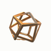 Design abstract object 3d model