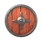 Cartoon Shield 3d model