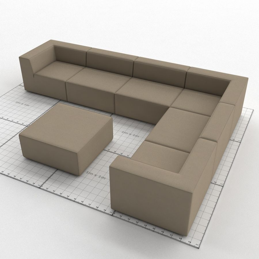 Divino Lounge - Spa Launge - Premium Garden Furniture royalty-free 3d model - Preview no. 1