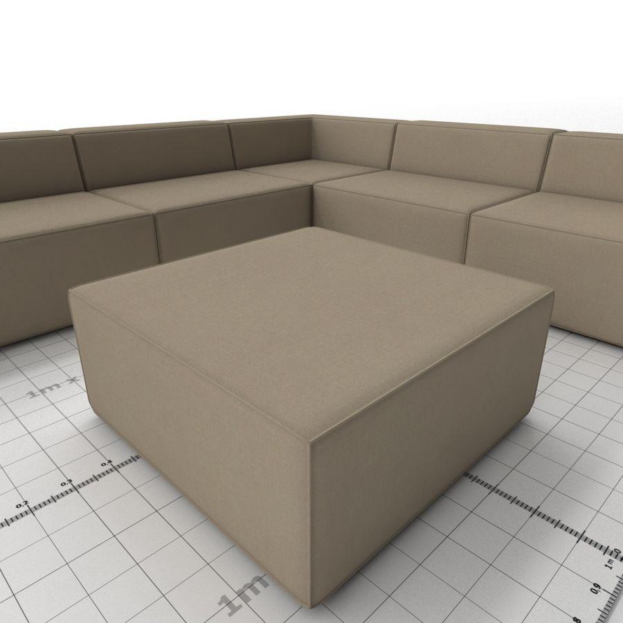 Divino Lounge - Spa Launge - Premium Garden Furniture royalty-free 3d model - Preview no. 5