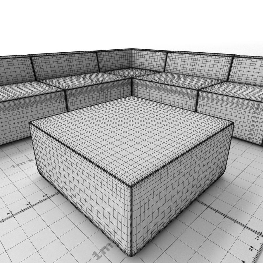 Divino Lounge - Spa Launge - Premium Garden Furniture royalty-free 3d model - Preview no. 10