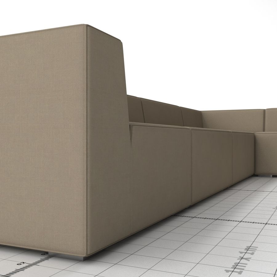 Divino Lounge - Spa Launge - Premium Garden Furniture royalty-free 3d model - Preview no. 3