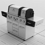 BroilKing Imperial Grill 3d model