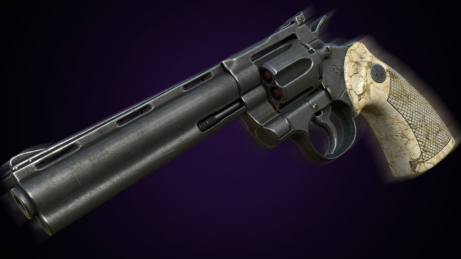 Colt Anaconda 3D Model $10 -  unknown  obj  fbx  max - Free3D