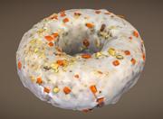 Doughnut Plant Carrot Cake Donut 3d model