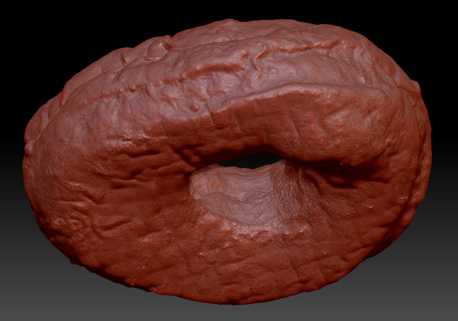 Rosquinha royalty-free 3d model - Preview no. 4