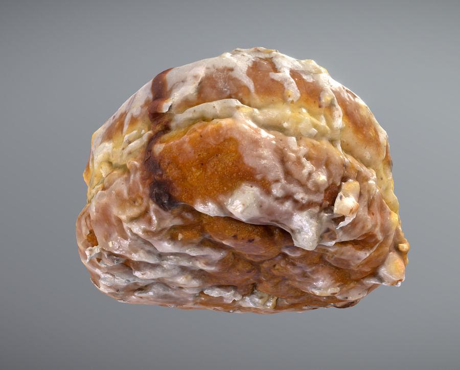 Doughnut Plant Hazelnut Chocolate Donut royalty-free 3d model - Preview no. 3