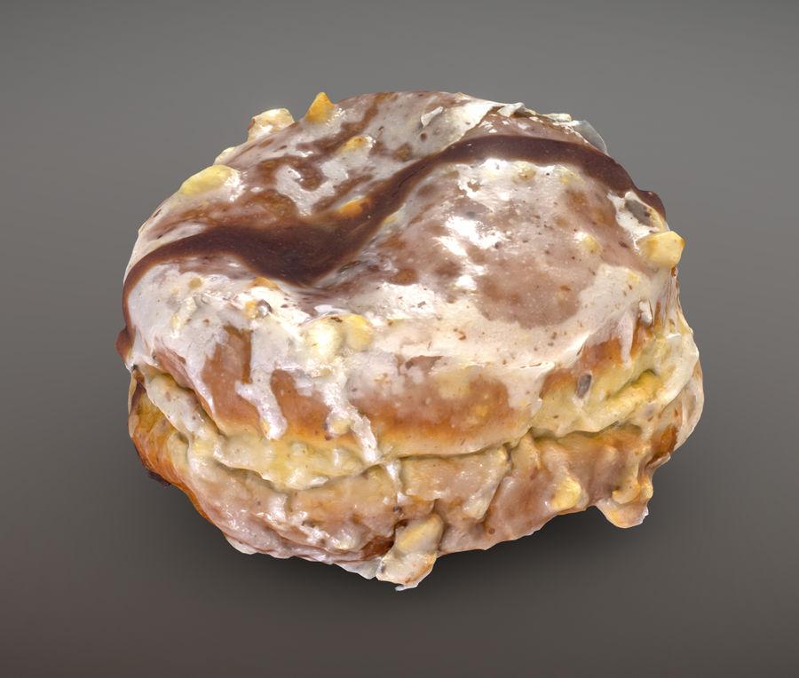 Doughnut Plant Hazelnut Chocolate Donut royalty-free 3d model - Preview no. 1
