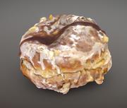 Donut Planta Avellana Donut Chocolate modelo 3d