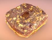 Peanut Butter Donut 3d model