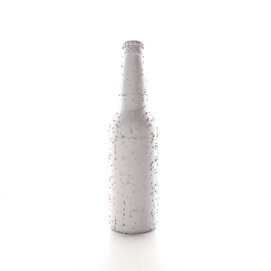 ölglasflaska 01 royalty-free 3d model - Preview no. 3