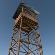 Torre de vigia 3d model