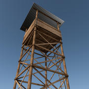 Сторожевая башня 3d model