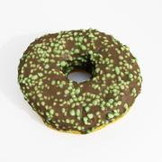 Пончик 11 монетный двор 3d model