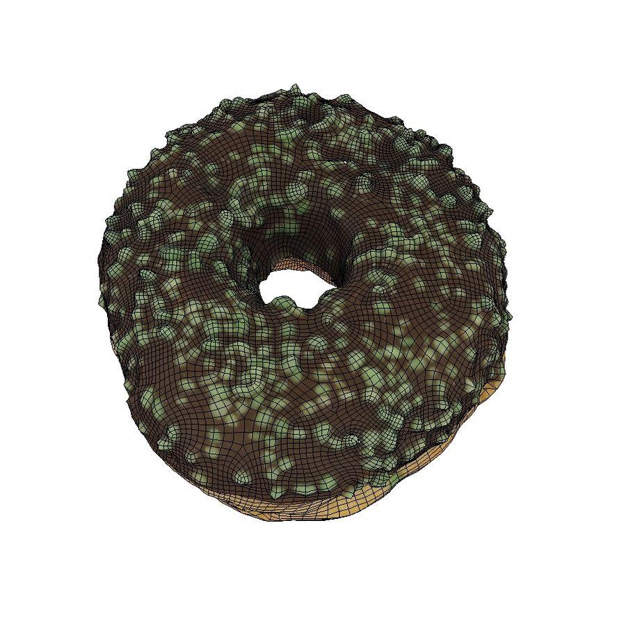 Пончик 11 монетный двор royalty-free 3d model - Preview no. 6