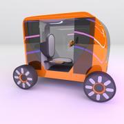 Concept styled simplistic single seat commuter v3 3d model