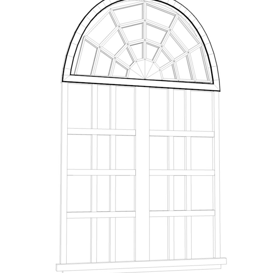 ventana royalty-free modelo 3d - Preview no. 5