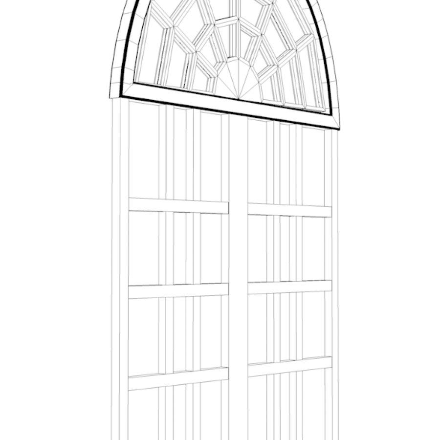 ventana royalty-free modelo 3d - Preview no. 4