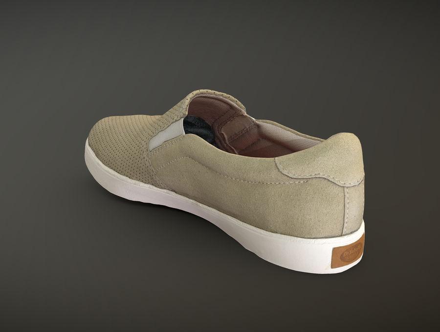 Dr Scholls Madison Bone sneaker 3D
