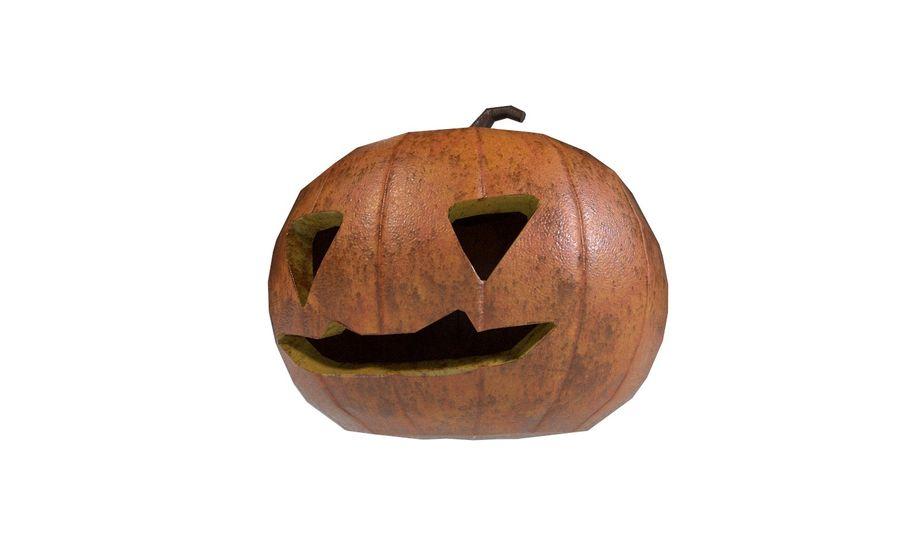 Pumpkin Halloween royalty-free 3d model - Preview no. 3