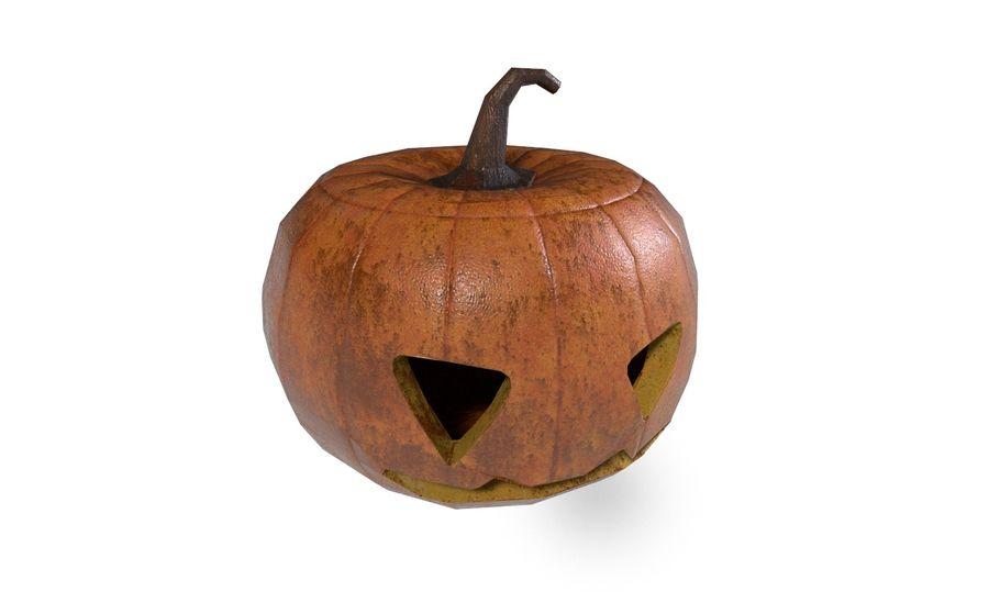 Pumpkin Halloween royalty-free 3d model - Preview no. 1